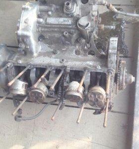 Ямаха FZR-250 двигатель на запчасти