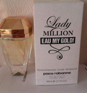 Тестер Lady Million Eau My Gold! Paco Rabanne