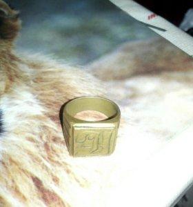 Продам перстень бронзовый