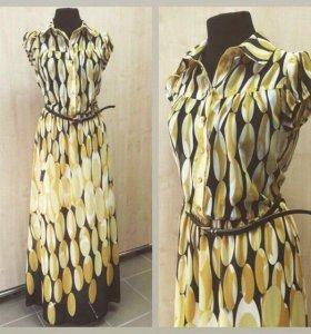 Новое платье в пол Турция