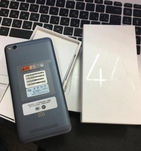 Xiaomi Redmi 4a (2гб+16гб Новый! Неактивированый