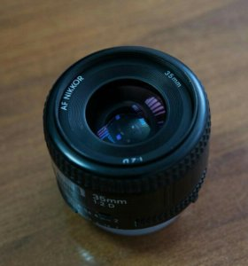 Объектив Nikon Nikkor 35mm 2D AF (Japan)