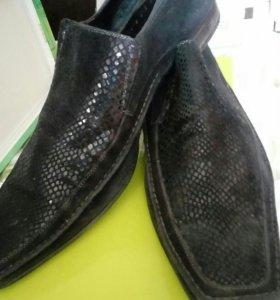 Туфли замшевые43/44
