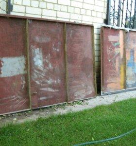 Створки для гаражных ворот