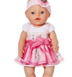 Комплект на куклу Baby Born(новый)