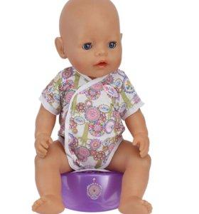 Боди на куклу Baby Born(новый)