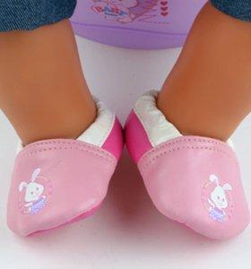 Ботиночки для куклы Baby Born(новые)