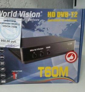 Цифровой приемник World Vision t60m