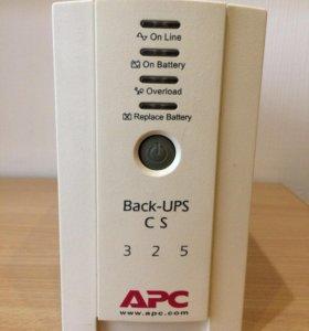 Бесперебойный источник питания APC Back-UPS CS 325