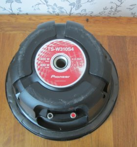 Сабвуфер 12 дюймов Pioneer TS-W310S4