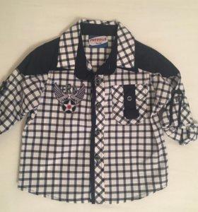Новая рубашка Forvello размер 86