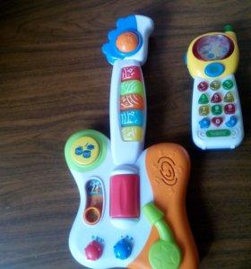 Развивающие игрушки малышам