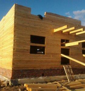 Дом, баня, дача из бруса. Строим дом.