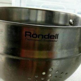 Дуршлаг Rondell.. Нержавейка.