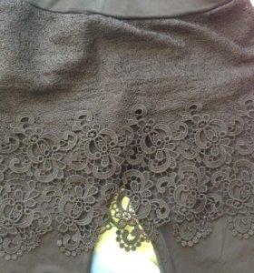 Легинсы с кружевной юбкой Calzedonia