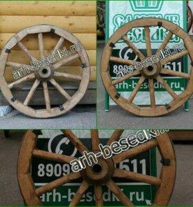 Деревянное колесо 1729