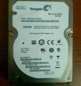 HDD Seagate Momentus 2.5 (320gb.) 5400rpm новый