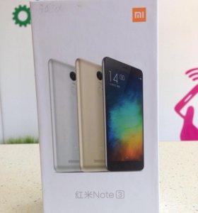 XiaoMi RedMi Note 3 16gb новый