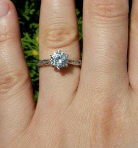 кольцо, серебряное  🌸