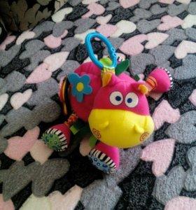 Подвеска веселый бегемот