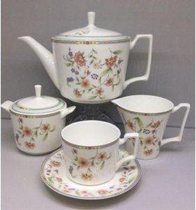 Чайный сервиз. 17 предметов