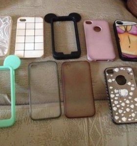 Чехлы для iPhone 4, 4s.