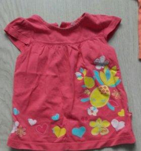 Одежда для девочки 1-1.5годика