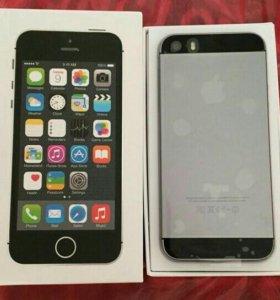 Айфон 5s на 16 гб новый в пленках