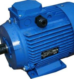 Продам электродвигатель 11 кВт бу