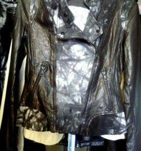 Куртка,кожа42,44 и46р-ры