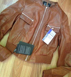 Куртка кожа(новая)