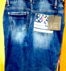 Комбез и сарафан джинсовые
