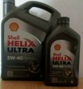 масло моторное Shell Helix Ultra 5W-40 4л