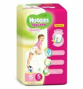 Трусики Huggies для девочки