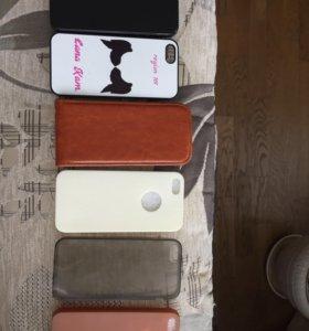 Чехлы на 5 айфон + 🎁