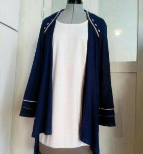 Кардиган-платье разм.50