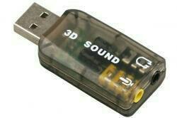 USB 2.0 3D звуковая карта для PC/ноутбука