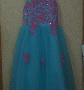 Баллоне платье для девочки 10-12 лет