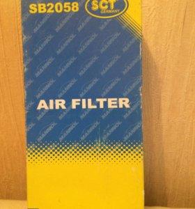 Тормозные колодки, воздушный фильтр