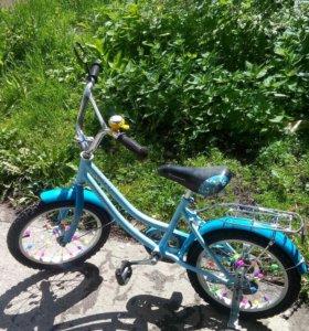 "Дет.велосипед колёса на 16""."