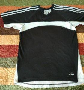 Мужская футболка б/у Adidas Original 46р S