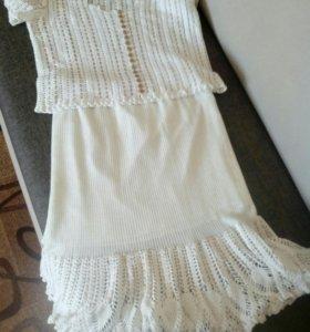 Кофта и юбка.
