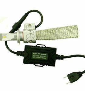Светодиодная лампа Ledo Н7 SMART 4000LM 6000K