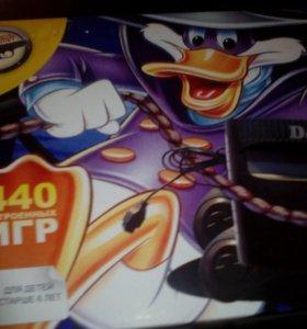 Dendy Duck 440 встроенных игр