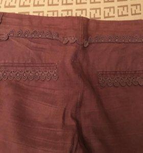 Штаны брюки льняные Monton