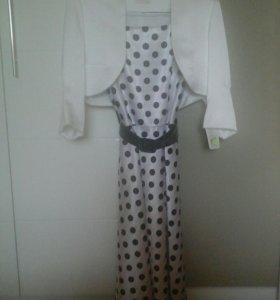 Платье-двойка новое, размер 42.