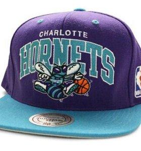 Бейсболка Mitchell & Ness Charlotte Hornets