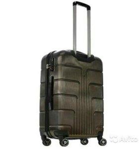 Пластиковый чемодан Luyida шоколад L, Шоу-Рум