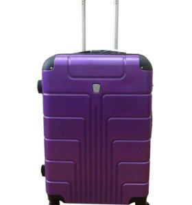 Пластиковый чемодан Luyida фиолетовый L, Шоу-Рум