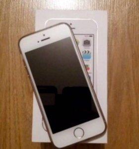 iPhone 5s gold 16gb lte.